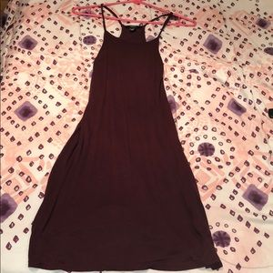 Mid-Burgundy Dress